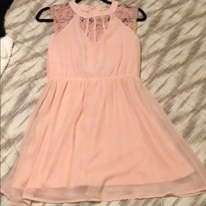 GB pink with lace dress size small!